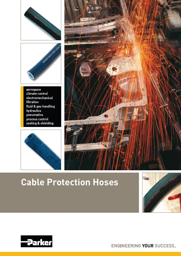 Cable Protection Hose MPP Hydraulic Parker ITR