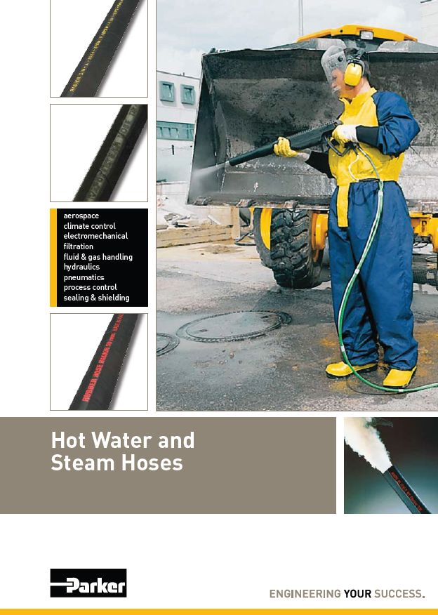 Hot Water and Steam Hose MPP Hydraulic Parker ITR